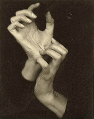 Expensive Photographs: Georgia O'Keeffe (Hands) (1919) by Alfred Stieglitz