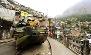 Rio raid: Brazilian marines