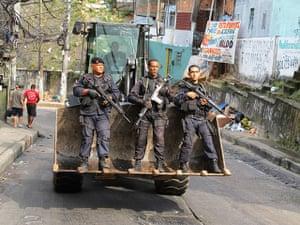 Rio raid: Nem hideout