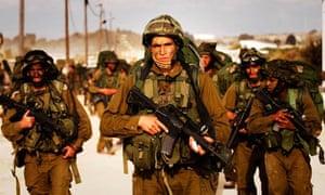 Israeli soldiers in Gaza