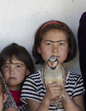 After the thaw: Hasanbeg village, Tajikistan: Oor Bibi 10, sports the popular monobrow