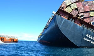 Salvage crews are to begin removing containers from the grounded Rena
