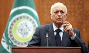 Arab League secretary-general Nabil Alarabi