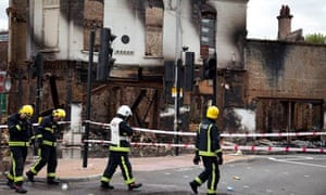 UK riots: morning after in Croydon