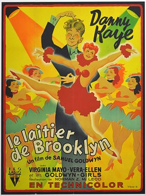 Film Poster Exhibition: The Kid From Brooklyn poster