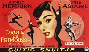 Film Poster Exhibition: Funny Face poster