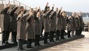 APEC Summit: 8 September 2007: World leaders wearing Drizabone jackets