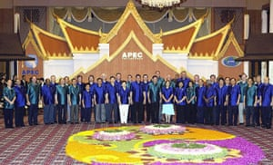 APEC Summit: 17 October 2003: APEC foreign and trade ministers in Bangkok