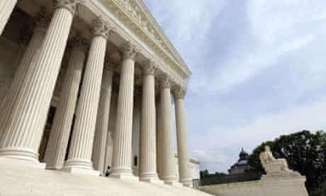 US Supreme Court in Washington DC