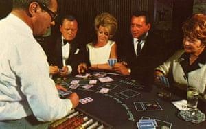 Vintage Vegas: Blackjack table, Las Vegas