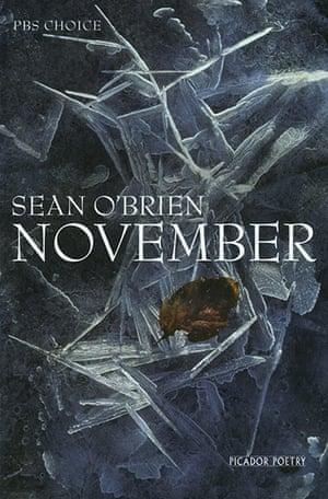 Costa Book Awards: Sean O'Brien: November