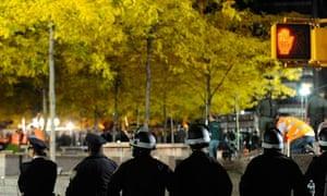 Zuccotti Park eviction