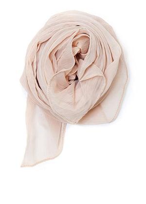 Marilyn get the look: Mango nude headscarf foulard