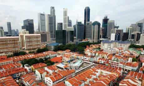 Singapore central business district