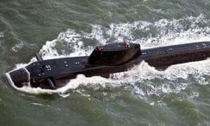 Astute submarine