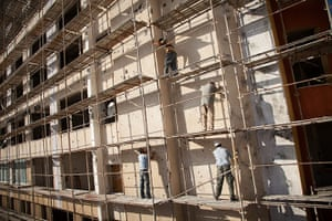 Interpal in Gaza: supporting construction of residential housing