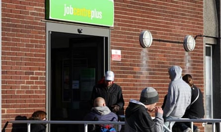 Unemployed young people