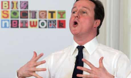 David Cameron's big society speech