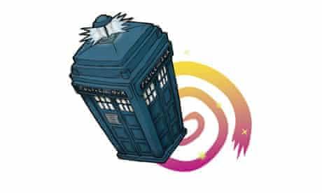 TARDIS illustrated by Jamie Lenman
