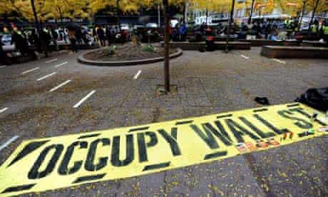 Occupy Zuccotti Park eviction