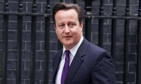 David Cameron, the prime minister