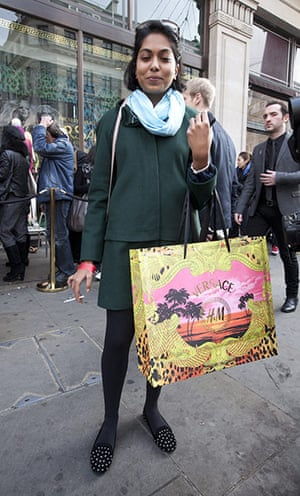 Versace for H&M: First shopper exits Versace for H&M