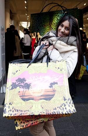 Versace for H&M: Malika Tejura