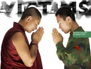 Benetton adverts: Victims