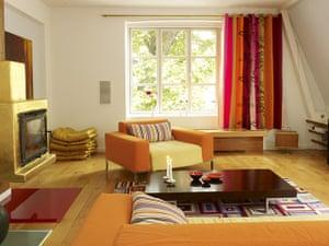Copenhagen house: Living room