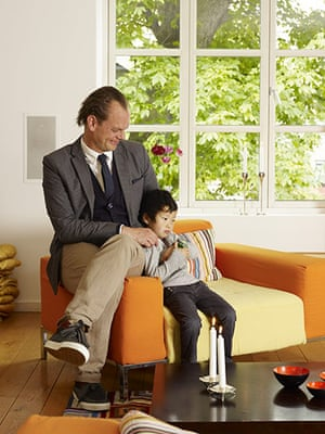 Copenhagen house: Thomas Cenius and daughter