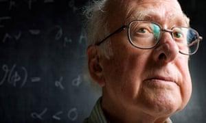 Professor Peter Higgs of Higgs boson fame