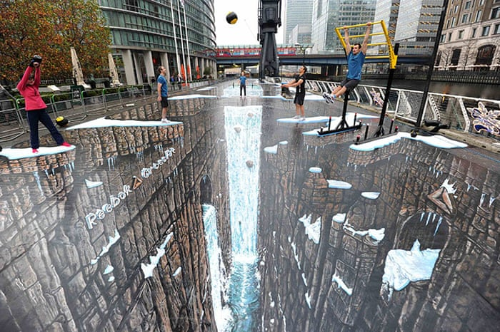 3D street art around the world - in pictures | Art and design | The Guardian