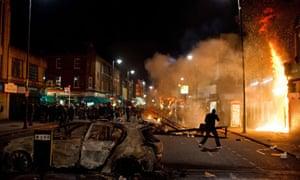 Riots in Tottenham 2011