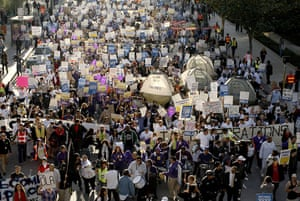 Protests around the world: Demonstrations around the world