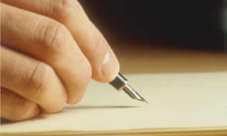 letter writing fountain pen