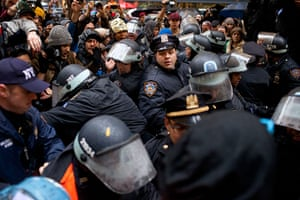 Occupy Day of Action: Police officers fight with Occupy protesters in Zuccotti Park