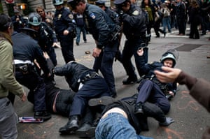 Occupy Day of Action: Occupy Wall Street Holds Major Day Of Action In New York City