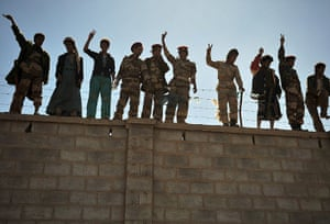 24 hours in pictures: Sanaa, Yemen: Defecting army soldiers