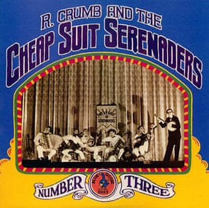 Complete Record Cover: R. Crumb and the Cheap Suit Serenaders Number Three