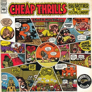 Complete Record Cover: Janis Joplin, Cheap Thrills