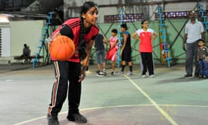 Nagpada basketball player Sumaiya Karim