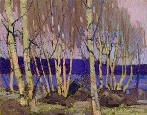 Tom Thompson: Evening, Canoe Lake