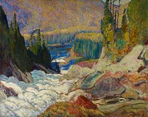 Tom Thompson: Falls, Montreal River