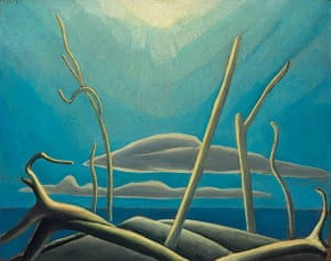 Tom Thompson: Lake Superior Sketch XXXIX