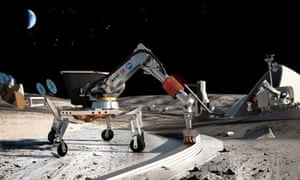 USC professors have won a prestigious Nasa grant to explore ways of building structures on the moon