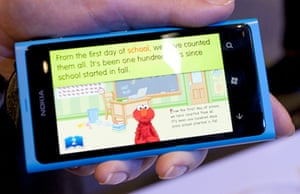 Nokia and Sesame Street Elmo app