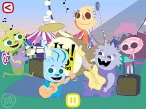 LeapFrog Songs app for iPad