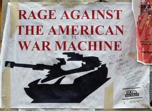 Signs at Occupy London: rage