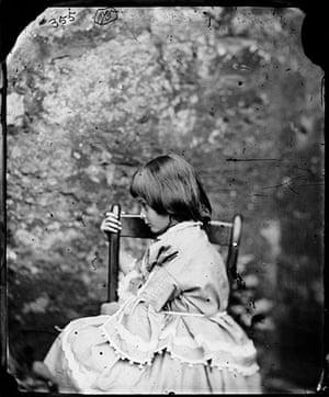 Alice in Wonderland Tate: Alice Pleasance Liddell, Summer 1858 by Charles Dodgson (Lewis Carroll)