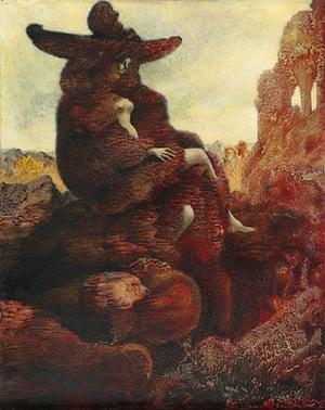 Alice in Wonderland Tate: Alice, 1941 by Max Ernst